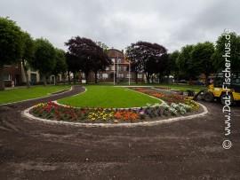 Büsum Park am Rathaus