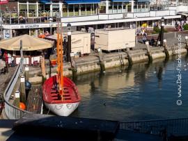 Ausbildungsboot der Seglerjugend